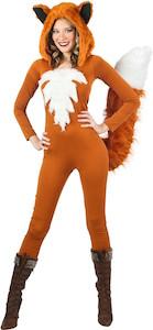 Women's Red Fox Costume