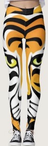 Special Cartoon Tiger Leggings