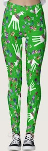 Giraffe Christmas Leggings