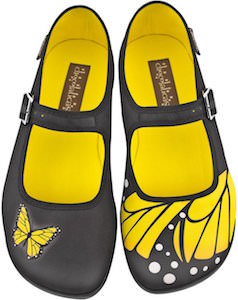 Women's Mary Jane Style Butterfly Shoes