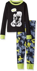 Bear And Camo Kids Pajama