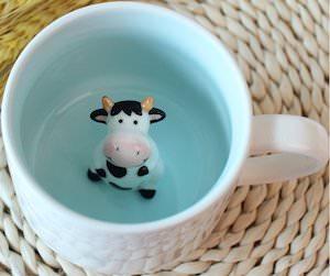 Cow In Coffee Mug
