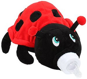 Ladybug Baby Bottle Holder
