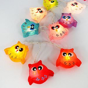Owls String Lights