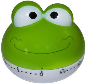 Green Frog Kitchen Timer