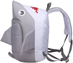 Kids Shark Shaped Backpack