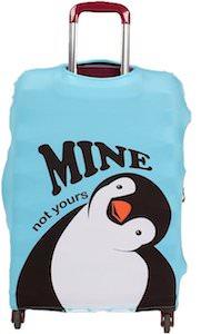 Penguin Suitcase Cover