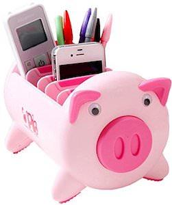 Pig Desk Organizer