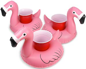 Flamingo Floating Drink Holder