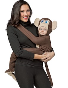 Huggables Monkey Baby Costume