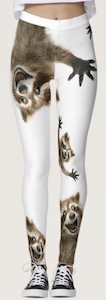 Crazy Raccoon Leggings