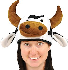 Cute Cow Hat