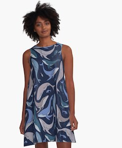 Dress With Whales