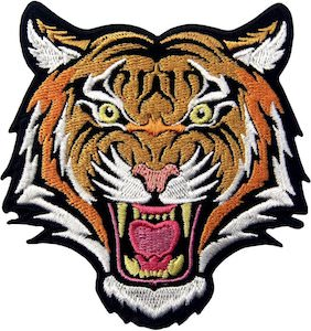 Roaring Tiger Clothing Patch
