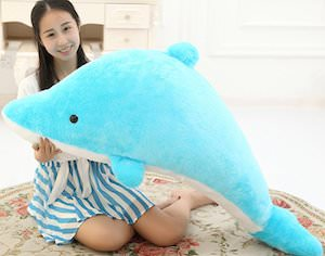 Giant Plush Dolphin