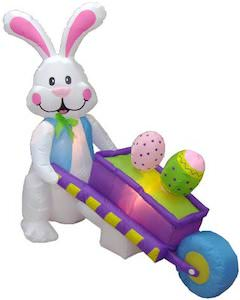 Easter Bunny Outdoor Inflatable