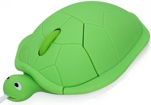 Green Turtle Computer Mouse