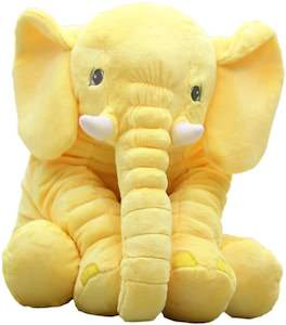 Yellow Elephant Plush