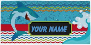 Personalized Shark Towel