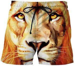 Lion Swim Shorts