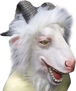 Latex Goat Mask for Halloween