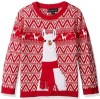 Lama Red Ugly Christmas Sweater