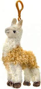 Llama Plush Key Chain