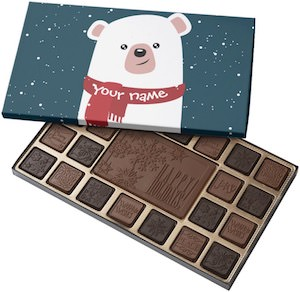 Polar Bear Box Of Chocolates
