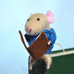 Cute Mouse Bookmark