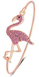 Flamingo Bangle Bracelet