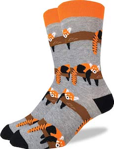 Red Panda Socks