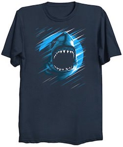 Shark Moon T-Shirt