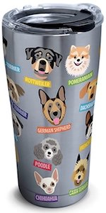 Dog Breeds Travel Mug