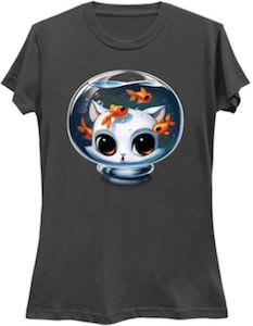 Cat In A Fishbowl T-Shirt