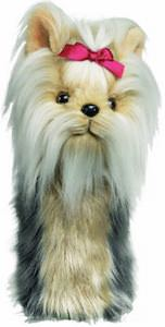 Yorkshire Terrier Golf Club Head Cover