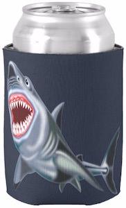 Big Shark Can Koozie