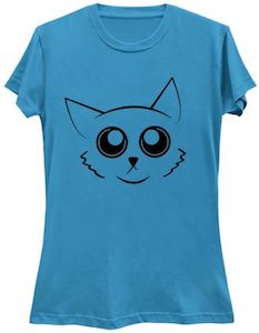Fun Cat Face T-Shirt