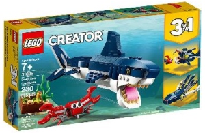 Shark Crab Squid LEGO Creator