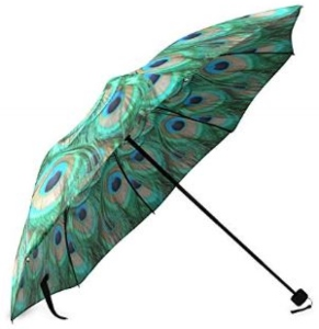 Peacock Pattern Umbrella