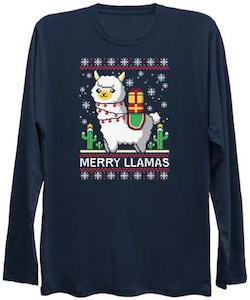 Merry Llamas Christmas Sweater