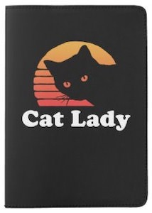 Black Cat Passport Cover
