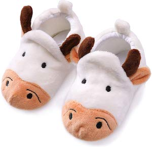 Baby Cow Slippers