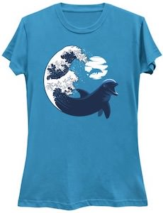 Dolphin In The Waves T-Shirt