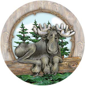 Moose Coaster Set