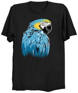 Blue Macaw T-Shirt