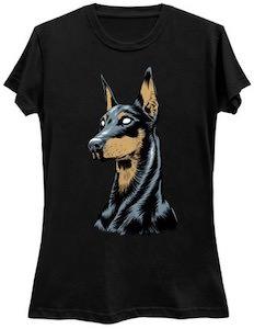 Doberman Portrait T-Shirt