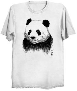 Panda Portrait T-Shirt