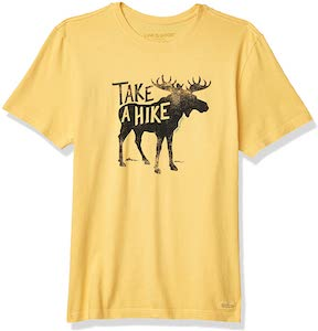 Take A Hike Moose T-Shirt