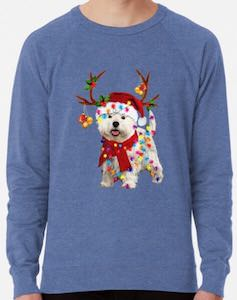 Decorated Westie Christmas Sweater