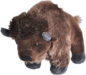 Bison Plush Animal